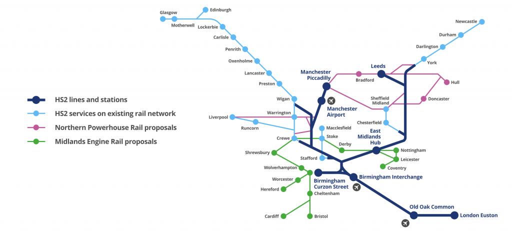 HS2-map-image - UK Property Investment to Increase