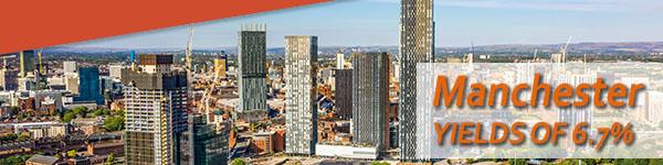 Manchester Rental Yields 2021