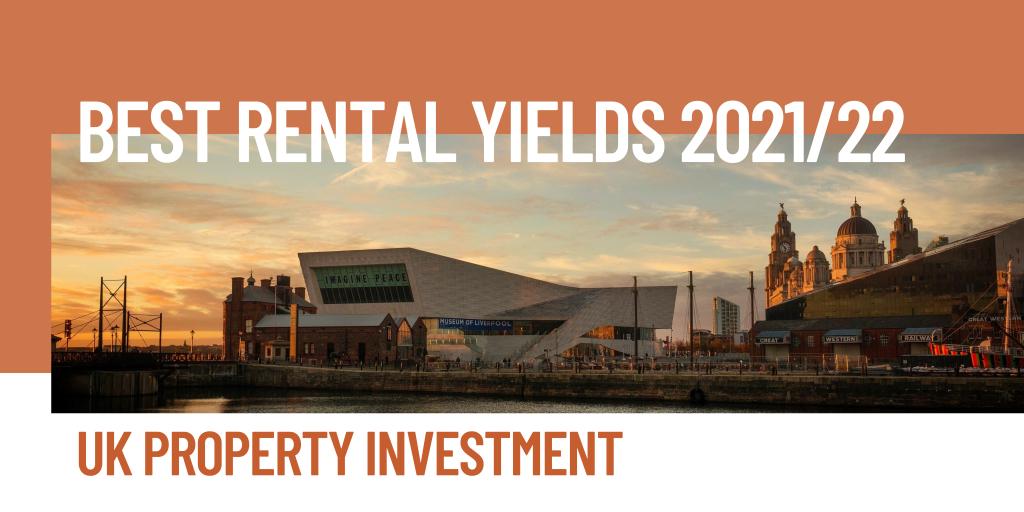 best rental yields 2021/22