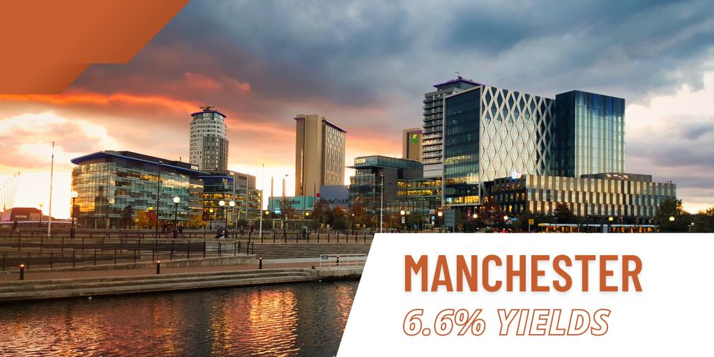Manchester rental yields